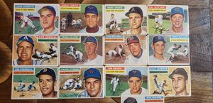 1956 Topps Vintage Baseball card's 13 card lot for Sale in Stockton, CA