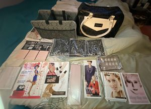 MARY Kay starter bag comes with order forms,mirrors,samples & extras for Sale in Enfield, CT