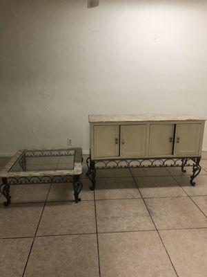 2 Drawer Cabinet w/ Coffee Table for Sale in Hillsboro Beach, FL