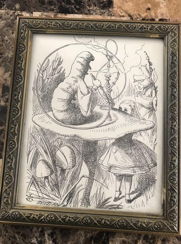 Alice in Wonderland 3 print set