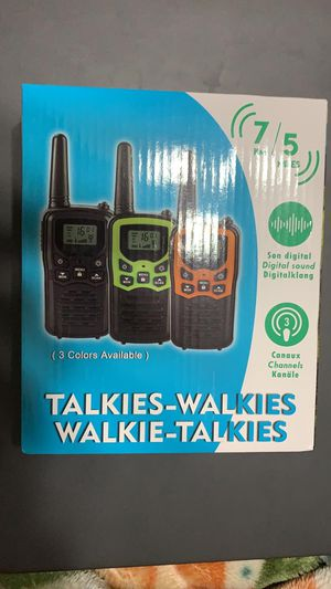 Walkie Talkie(Brand New/Un-Opened) for Sale in Schaumburg, IL
