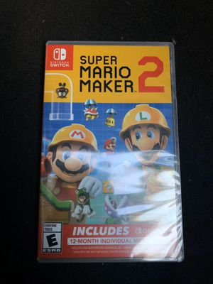 Brand New Super Maker 2 for Nintendo Switch for Sale in Chino, CA