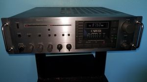 Carver MRX-130 stereo receiver. Sounds as good as yamaha, marantz, pioneer, kenwood, fisher, nakamichi, nikko, sansui, denon, Onkyo. turntable for Sale in Gig Harbor, WA