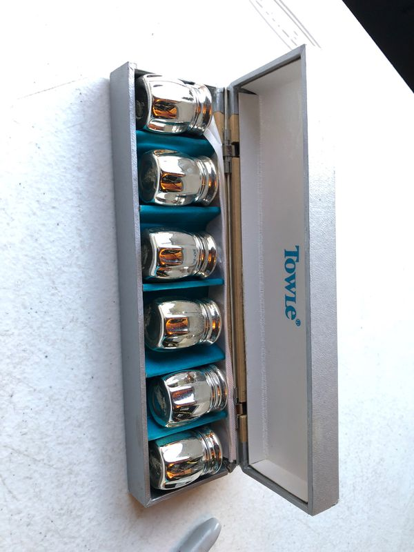 Towle spice shaker set old
