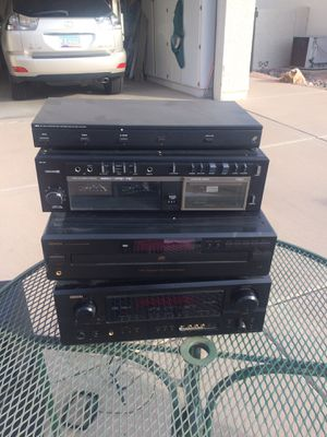 Nostalgic Stereo System surround for Sale in Chandler, AZ