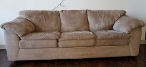 Gently used three seater sofa for Sale in Naperville, IL