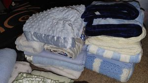 Bundle of baby blankets for Sale in San Jose, CA
