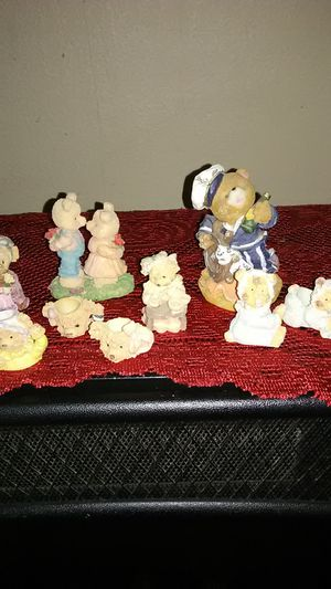 A bunch of teddy bears are all ceramic good condition for Sale in Amarillo, TX