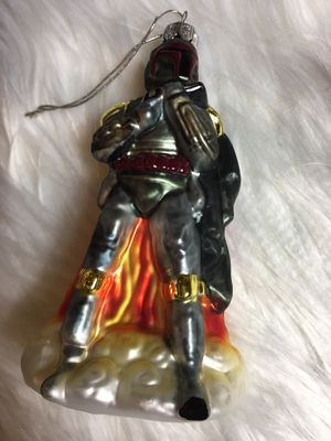 Star Wars Boba Fett Christmas Ornament Collectors Star Wars Ornament for Sale in Eagle Point, OR