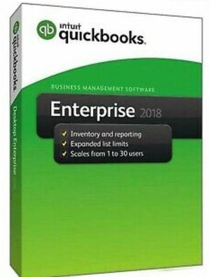 QuickBooks Enterprise Accountant 2018 PC Only for Sale in Miami, FL