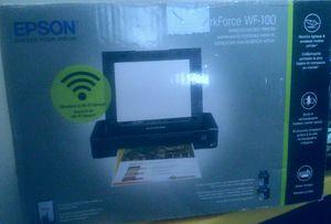 New Open Box Display Workforce WF-100 EPSON Wireless Mobile Printer for Sale in Savannah, GA