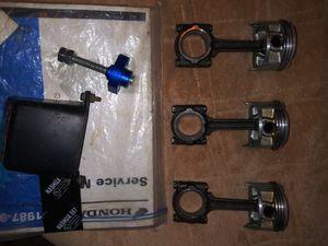 Motorcycle parts honda 600 & 600Fi for Sale in San Antonio, TX