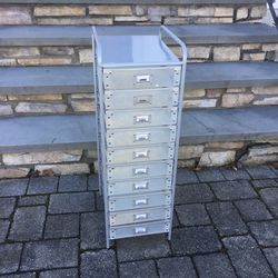 10 drawer rolling storage cart organizer for Sale in Concord,  MA