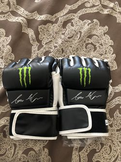 Signed Ian McCall ufc gloves for Sale in Apple Valley,  CA