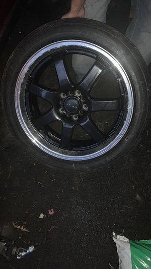 Universal rims with tires for Sale in Arlington, WA