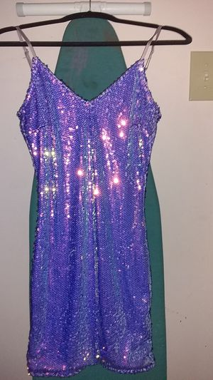 Purple sequin party dress for Sale in Chicago, IL