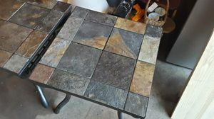 Tile Stone End Table Stands w/ Lights for Sale in Afton, MN