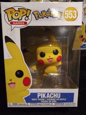Funko Pop Pokemon Pikachu Waving #553 for Sale in Cypress, CA