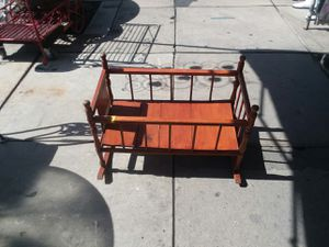 Antique doll crib for Sale in Los Angeles, CA