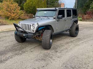 2016 Jeep Wrangler Unlimited for Sale in Olympia, WA