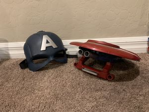 Captain America Mask and Shield for Sale in Las Vegas, NV