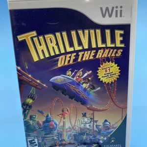 Wii Thrillville Off The Rail Video Game for Sale in Watsonville, CA