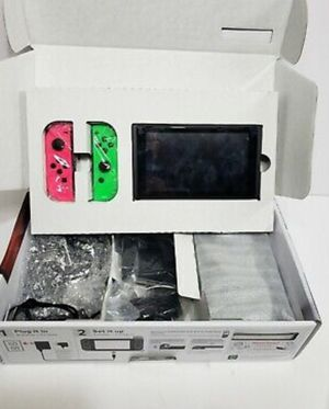 Huge Bundle Nintendo Switch 32GB with 5 games Mario Kart, Party, Pokemon + MORE. Call or text7244291257for swift response for Sale in Bridgeville, PA