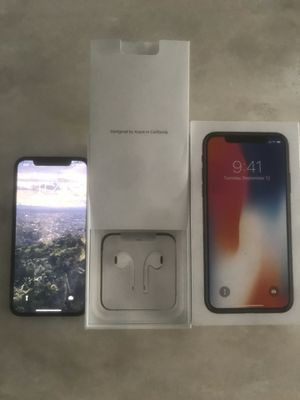 Like-new Iphone X 256GB Grey for Sale in Oakland Park, FL