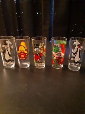 Disney pepsi glasses for Sale in San Bernardino, CA