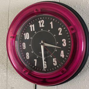Neon Clock for Sale in Houston, TX