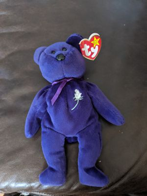 Authentic princess beanie bear. for Sale in NEW PRT RCHY, FL