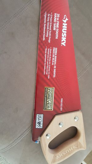 Husky 20 in Fine-Tooth Hand Saw * Brand New * FIRM PRICE * South ofSan Diego 92154 * for Sale in San Diego, CA