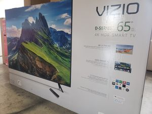 "65"" VIZIO D65X-G4 4K UHD HDR LED SMART TV 2160P (FREE DELIVERY) for Sale in Lakewood, WA"