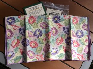 Longaberger Cloth Napkin Morning Glory 2 Pack Fabric for Sale in Lewisburg, TN