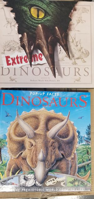 Dinosaurs and Extreme Dinosaurs books for Sale in Fort Lauderdale, FL