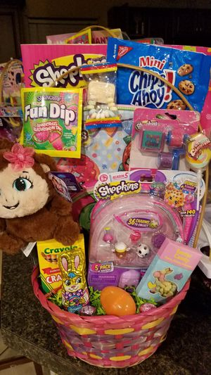 Shopkins easter basket for Sale in Ontario, CA