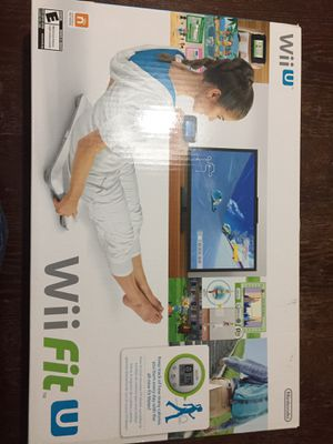 Wii Fit U board for Sale in Schaumburg, IL