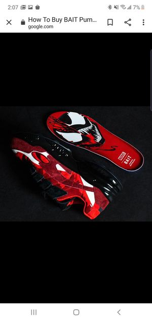 Bait x Puma Cell Carnage Collaboration Size:10 for Sale in West Hollywood, CA
