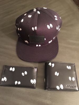Disney X Sleepy Eyes Hat and 2 Wallet Set by COACH for Sale in Long Beach, CA
