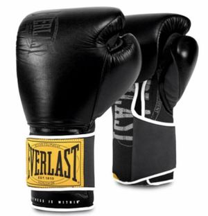 Everlast 1910 Classic Training Leather Boxing Gloves for Sale in New York, NY