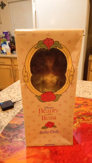 Beauty and the beast doll the girl princess Disney beauty and the beast Bella doll for Sale in Las Vegas, NV