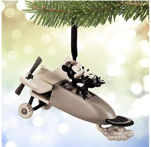 Disney Christmas Ornament - 2015 Sketchbook Mickey & Minnie Mouse - Plane Crazy *BRAND NEW* $35 OBO for Sale in Englewood, CO