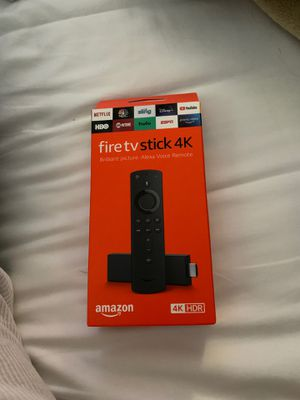 Fire tv stick 4K (Brand New) for Sale in Inglewood, CA