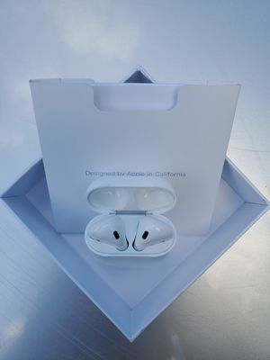 New AirPods with WIRELESS Charging Case 2nd Generation for Sale in LRAFB, AR