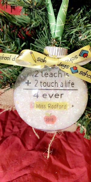 Teacher ornaments for Sale in Riverside, CA