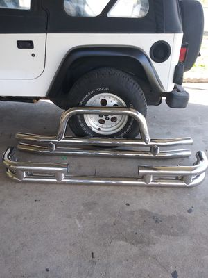 Jeep bumpers for Sale in San Antonio, TX