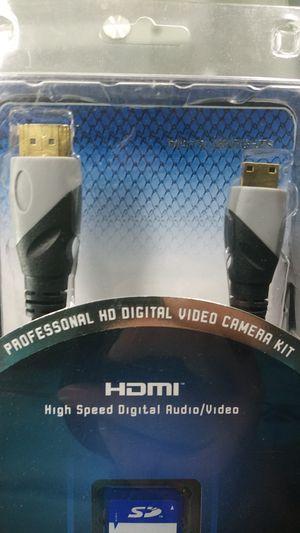 Professional HD digital video camera kit for Sale in Manheim, PA