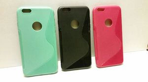 3 Pack of Solid Color TPU cases for iPhone 6S Plus / 6 Plus for Sale in Scottsdale, AZ