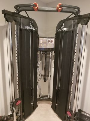 inspire FT1 functional trainer with accessories for Sale in Aurora, IL