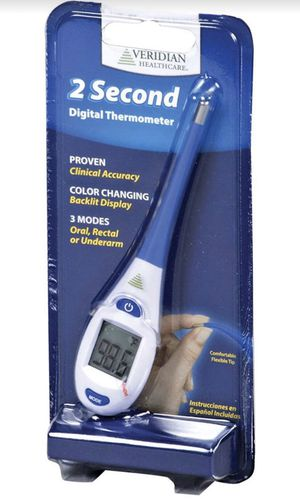 2 second digital thermometer for every one every home only 14.99$ for Sale in Little Falls, NJ